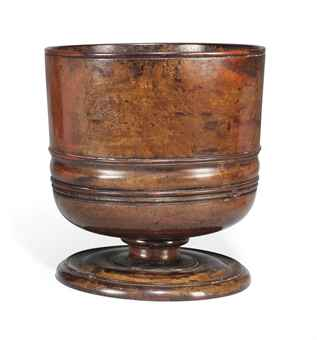 C17th Wassail bowl