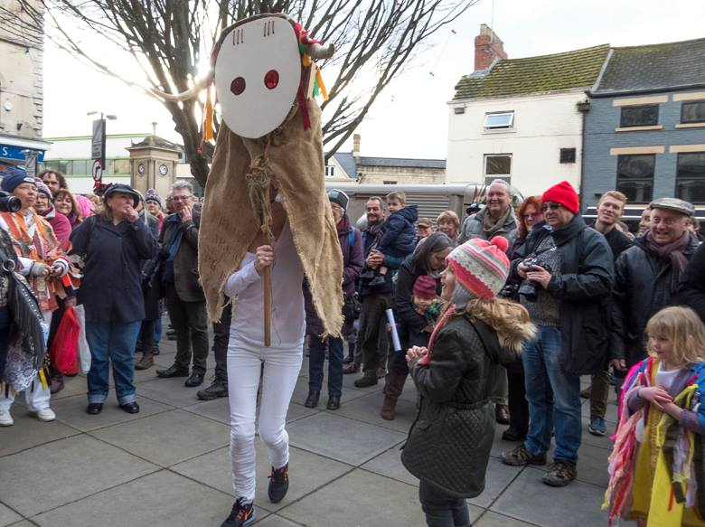 The Stroud Broad is the symbol of our Wassail. (Photo (c) Deborah Roberts)