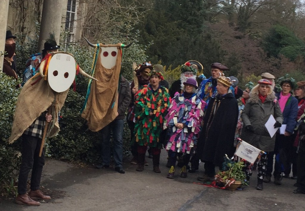The Stroud and Winchcombe Broads prepare to cause chaos. (Photo (c) Ann Taylor)