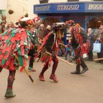 Foxs Morris from Worcestershire are frequent (and popular) visitors to Stroud. (Photo (c) Mike Finn)