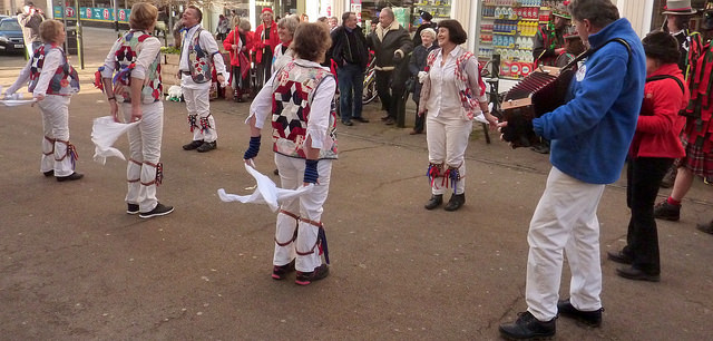 Ragged & Old Morris from Stroud. (Photo (c) Mike Finn)